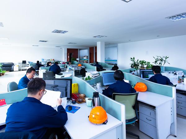 金球技术团队人员办公室