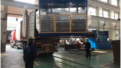 金球折弯机装箱运往俄罗斯